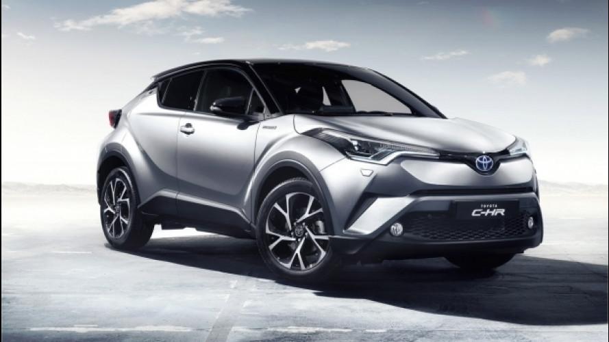 Toyota C-HR, al via gli ordini