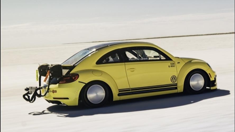 """Volkswagen, un Maggiolino """"tutto matto"""" per davvero: 330 km/h"""