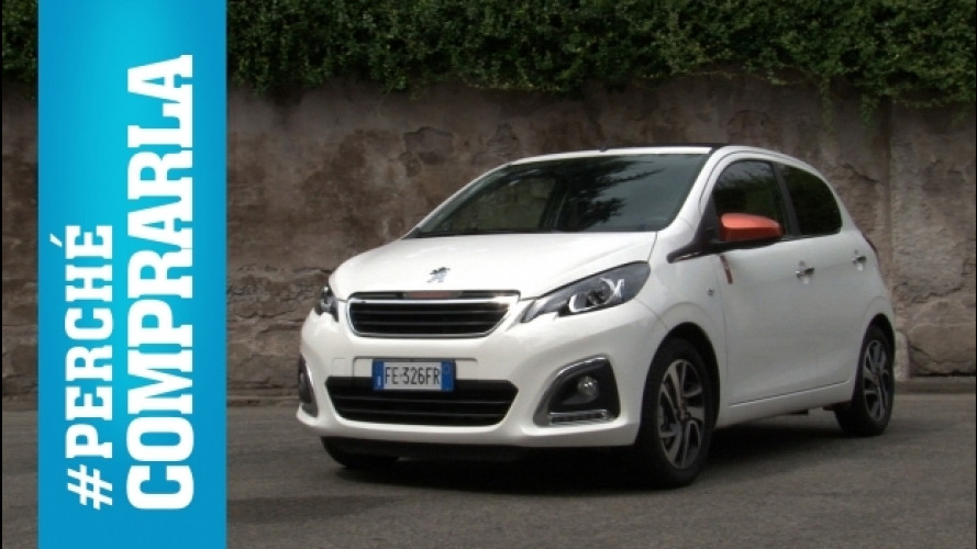 Peugeot 108, peché comprarla… e perché no [VIDEO]