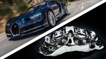 [Copertina] - Bugatti Chiron avrà i freni in titanio stampati in 3D