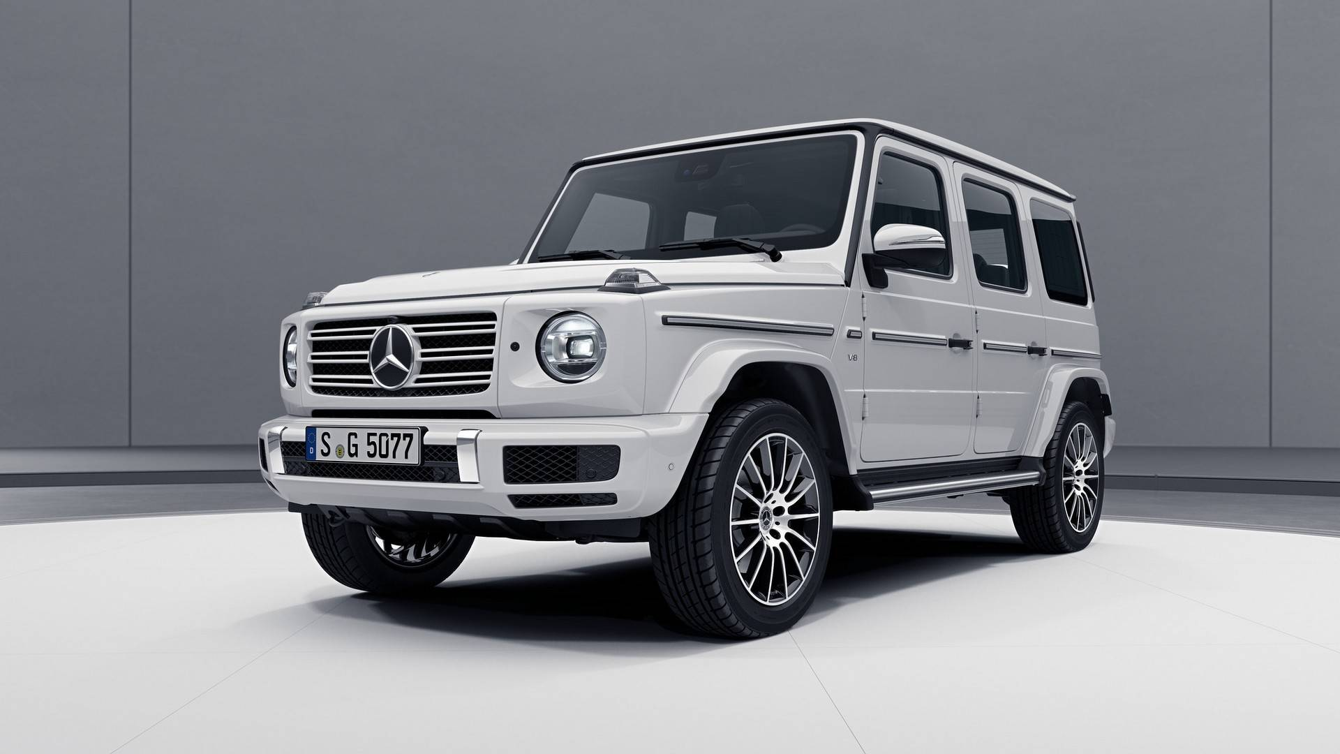 2019 Mercedes G Class Amg Line Shows Its Sporty Side