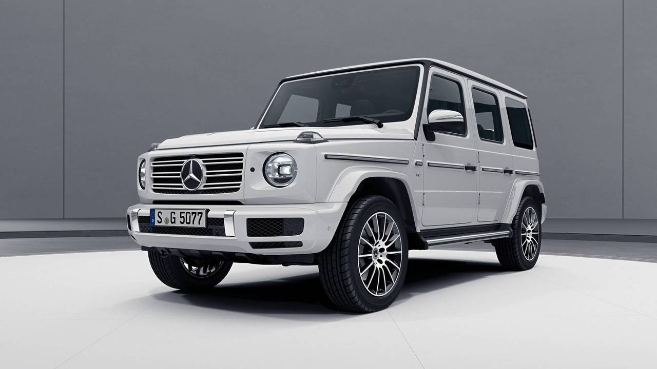 2018 Mercedes G Class Amg Line Motor1 Com Photos