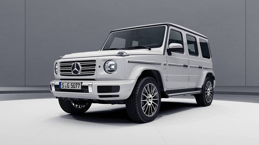2018 Mercedes G-Class AMG Line shows the new car's sporty side