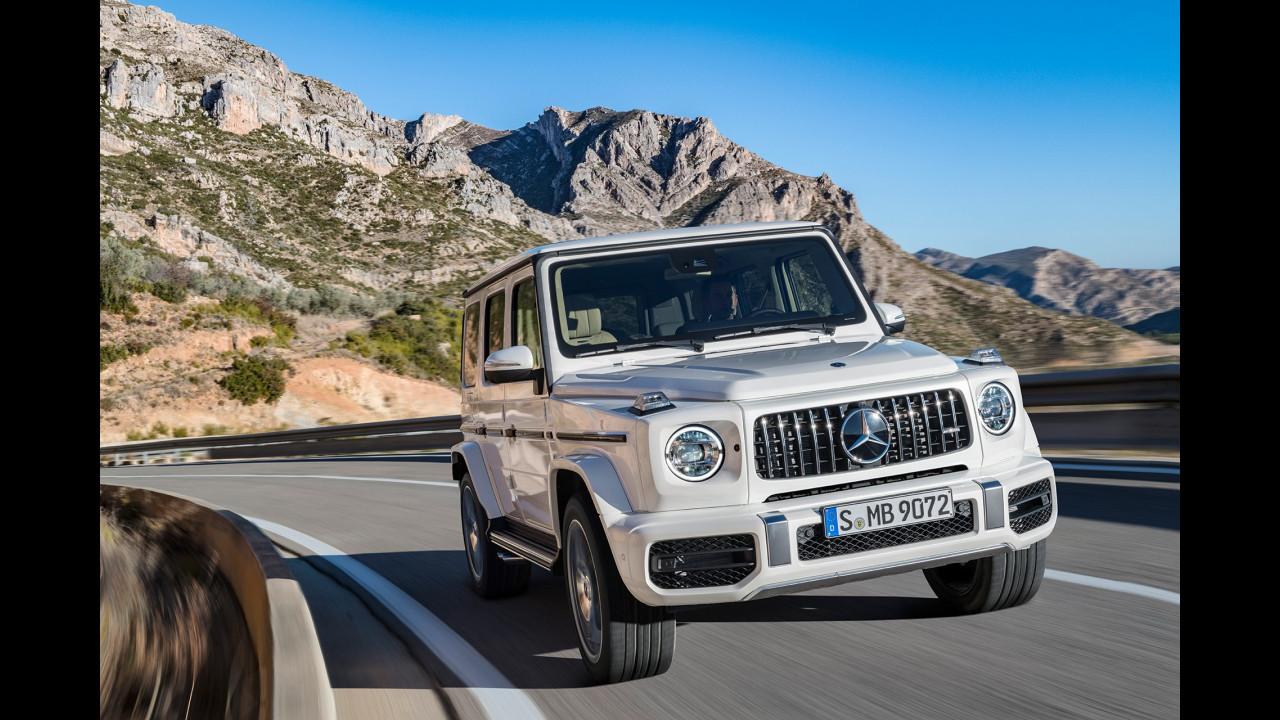 Nuova Mercedes-AMG G 63