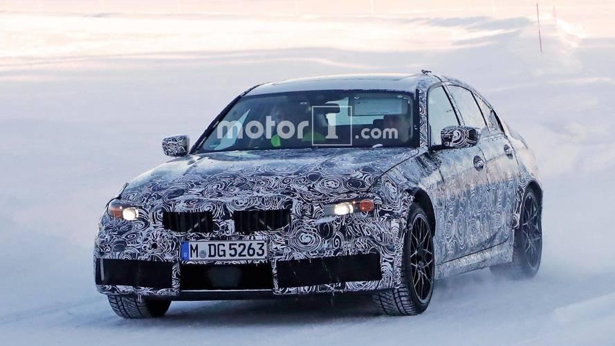 Yeni BMW M3 casus fotoğrafları