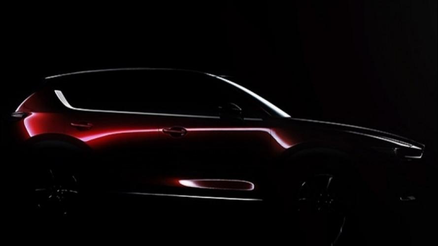 Nuova Mazda CX-5, ecco il primo teaser