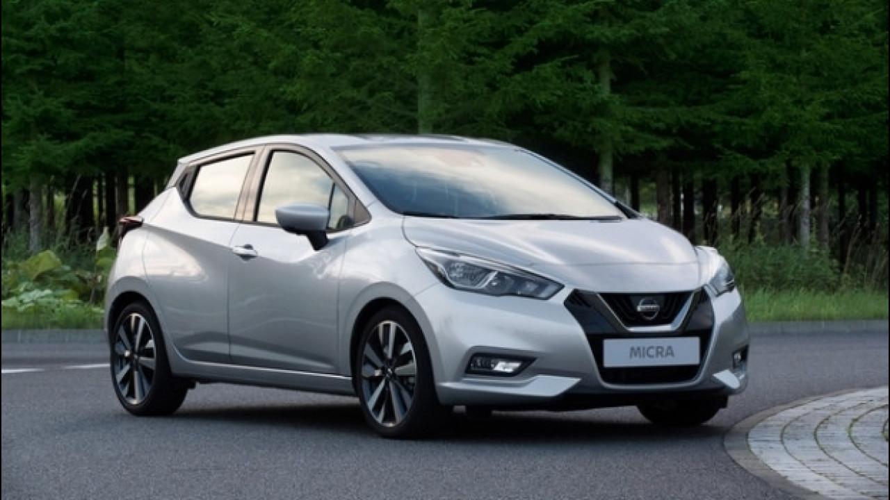 [Copertina] - Nuova Nissan Micra, è in arrivo anche con l'acquisto