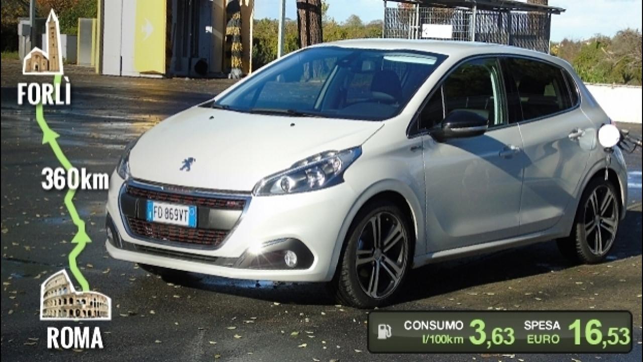 [Copertina] - Peugeot 208 BlueHDi, la prova dei consumi reali