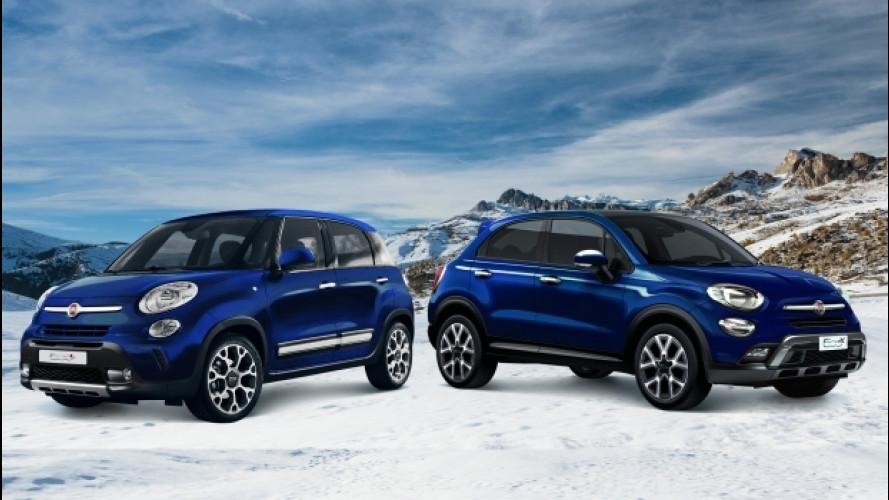 """Fiat 500X e 500L, arriva la """"Winter Edition"""""""