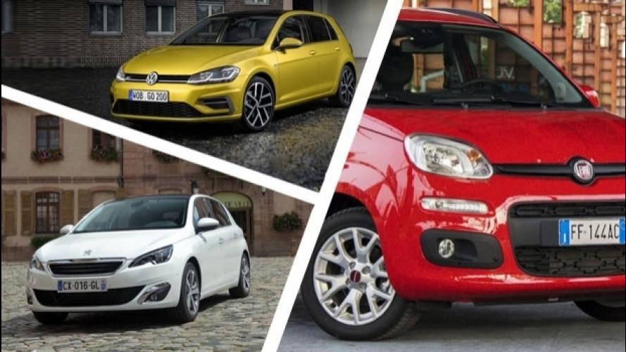 Le auto più noleggiate nel 2016, i primi dati ufficiali