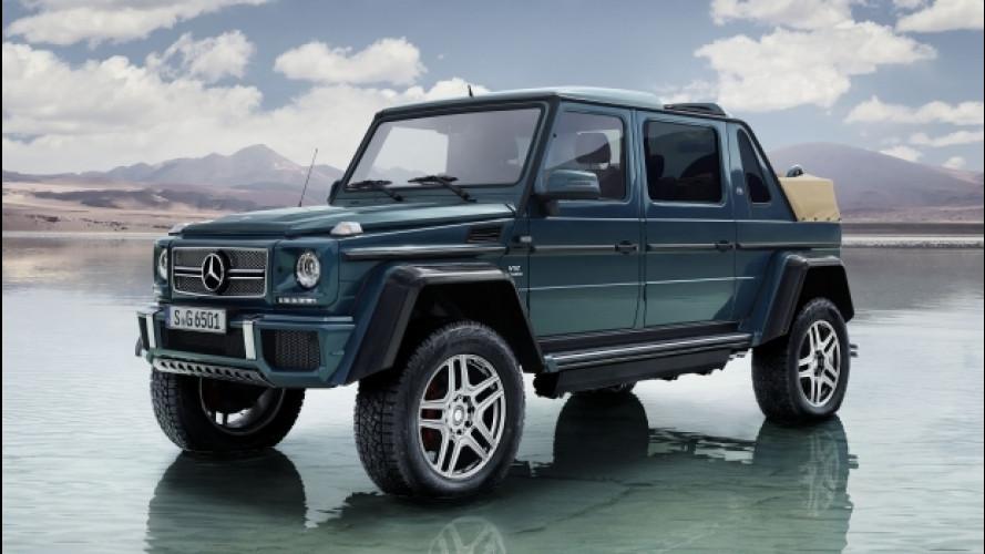 [Copertina] - Mercedes-Maybach G 650 Landaulet, capote in tela e V12 da 630 CV