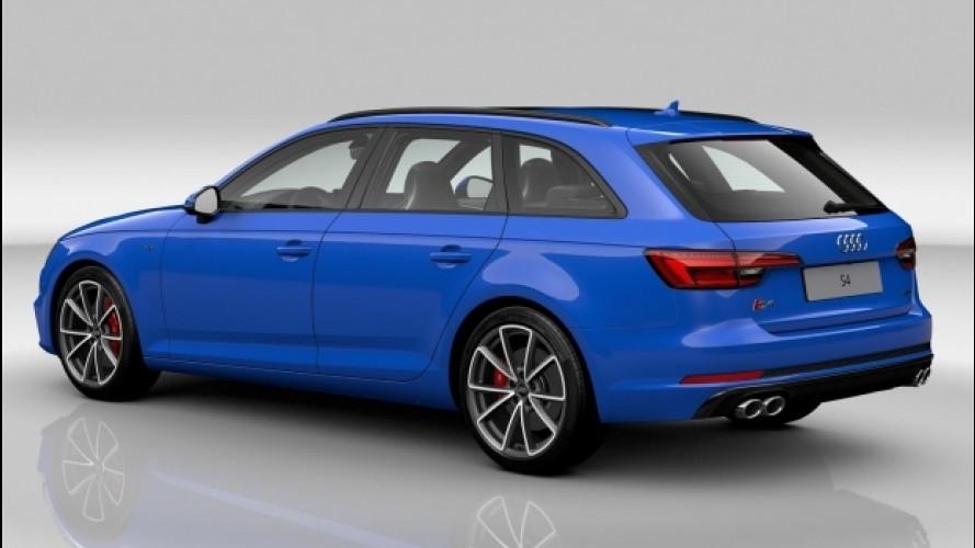 Audi S4 ed S5, nuovi colori con i pacchetti Exclusive