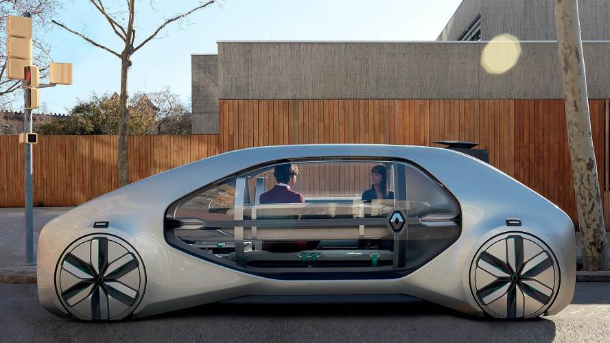 Renault EZ-GO: Autonom fahrendes Robo-Taxi für die City