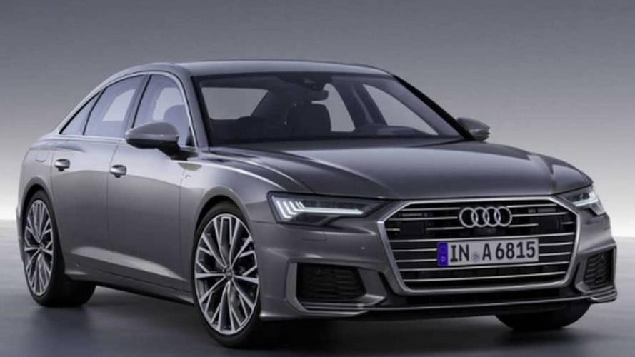 Nuova Audi A6, le foto ufficiali sfuggono in rete