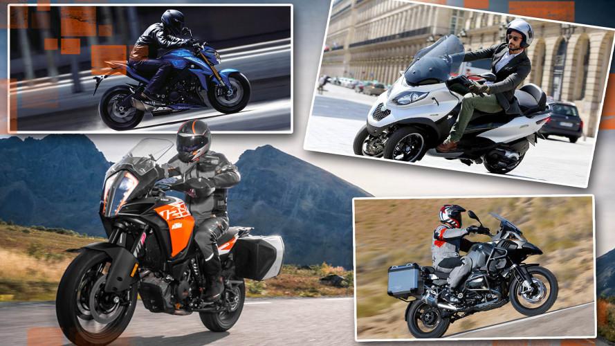 Top Ten: Die beliebtesten Motorräder