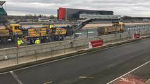 Silverstone circuit resurfacing