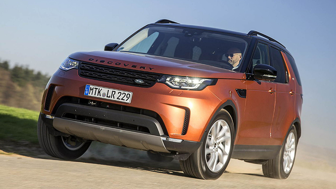 Große SUVs: Land Rover Discovery