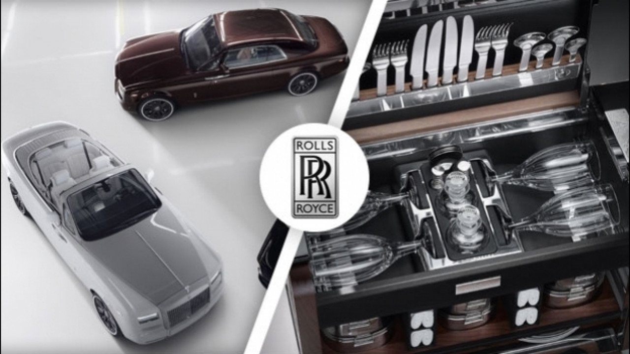 [Copertina] - Rolls-Royce, arriva l'esclusivo set da picnic