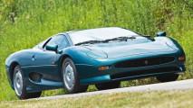 jaguar xj220 era lei la piu veloce al mondo
