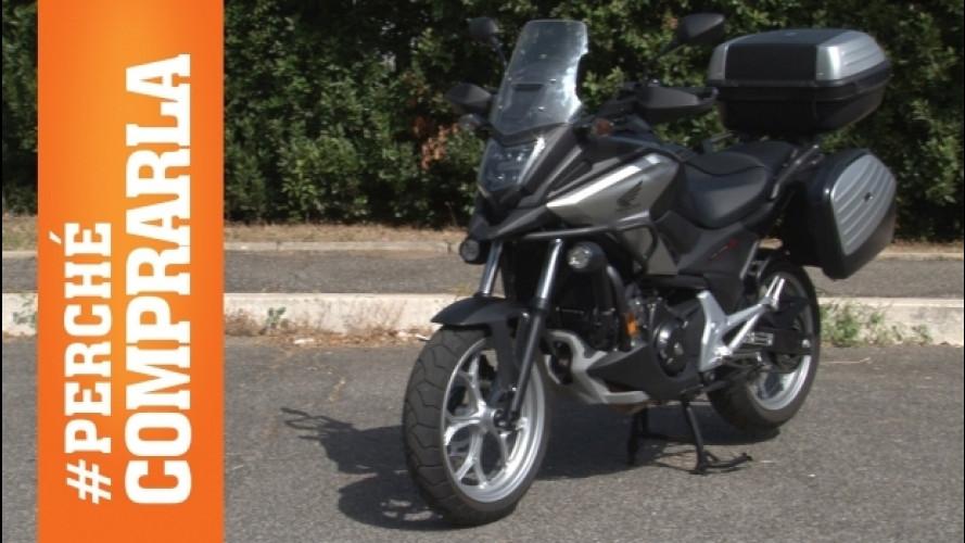 Honda NC750X DCT: la moto con il cambio a doppia frizione