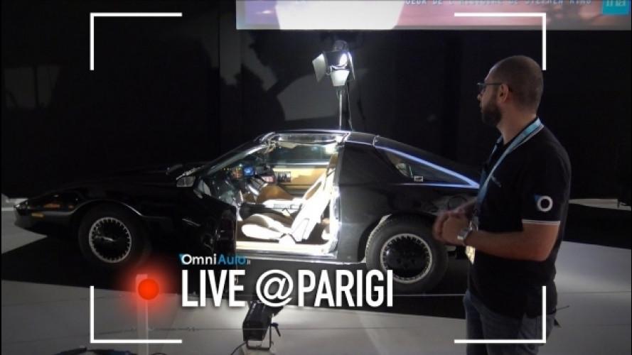 Le auto del cinema viste da vicino al Salone di Parigi [VIDEO]