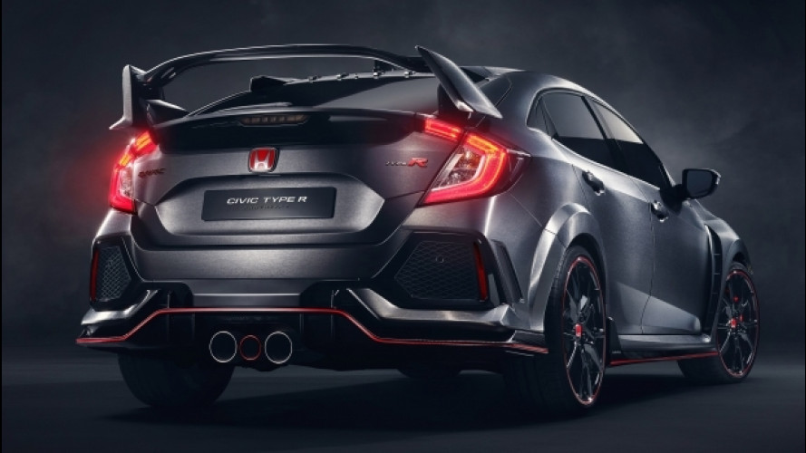 Salone di Parigi, la Honda Civic Type R è una