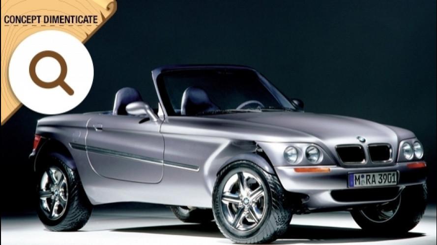 BMW Z18, la roadster che voleva fare la SUV