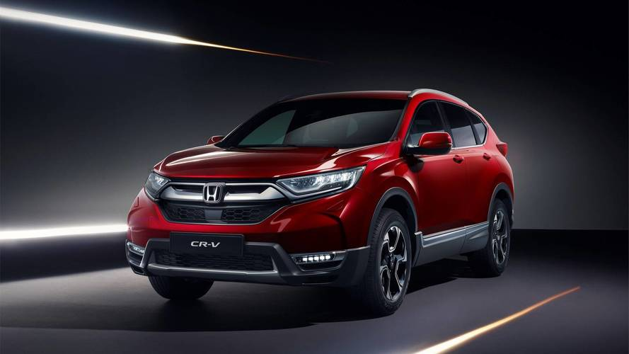 Aguardado no Brasil, Honda CR-V 2018 estreia na Europa com 7 lugares