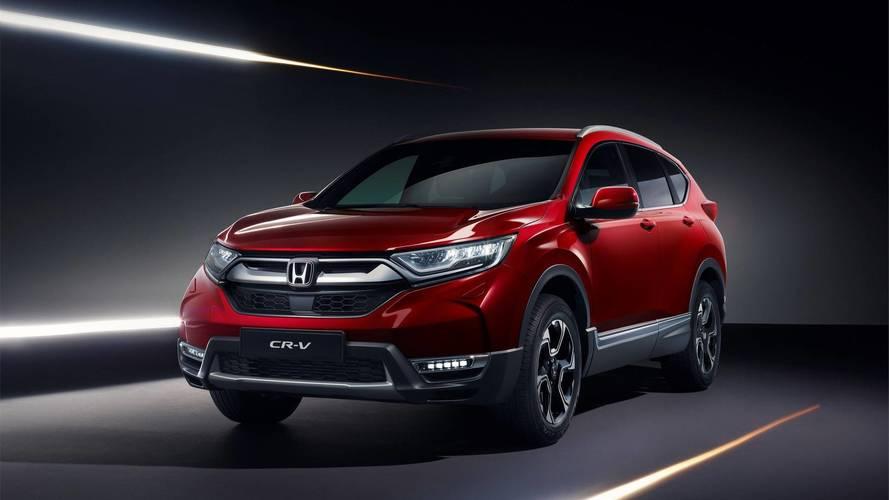 Honda CR-V (Euro-spec)