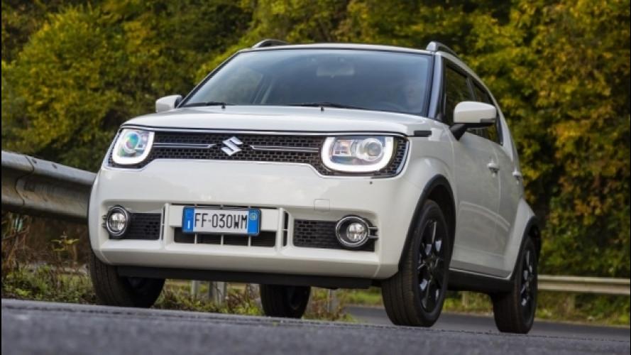Nuova Suzuki Ignis, sconto di 2.100 euro su tutta la gamma