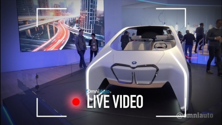BMW i Inside Future, ecco l'abitacolo del futuro [VIDEO]