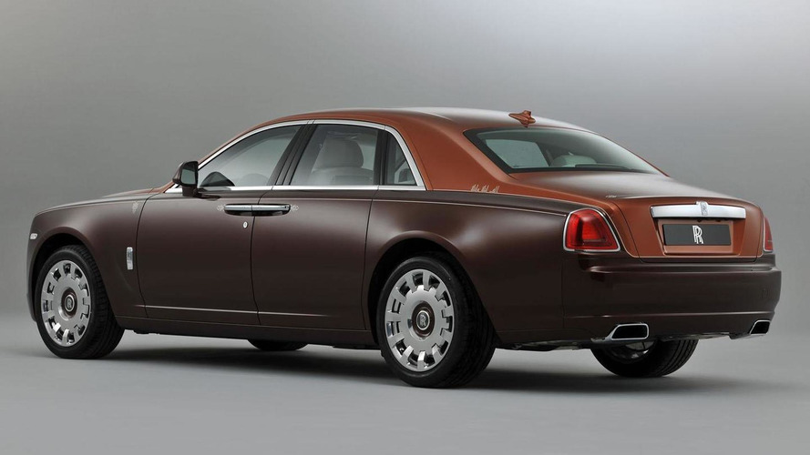 Rolls Royce Ghost One Thousand and One Nights collection announced