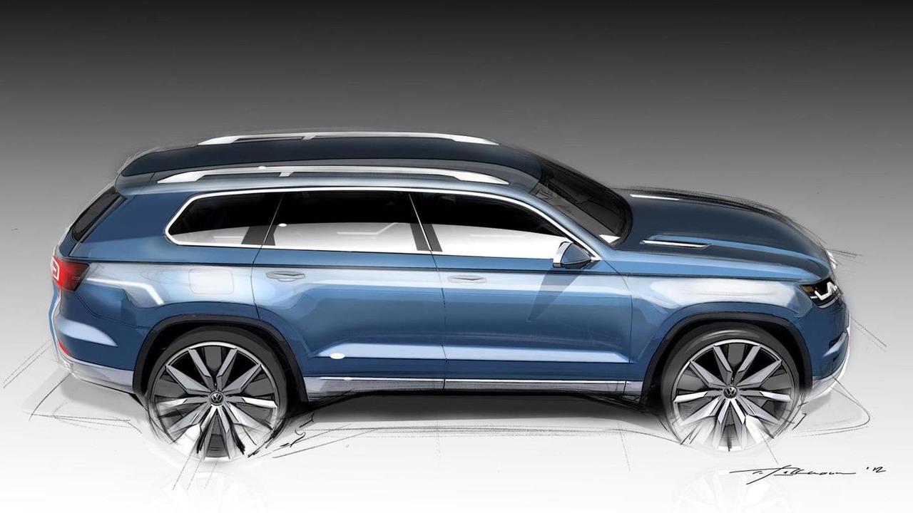 Volkswagen seven-seat SUV concept