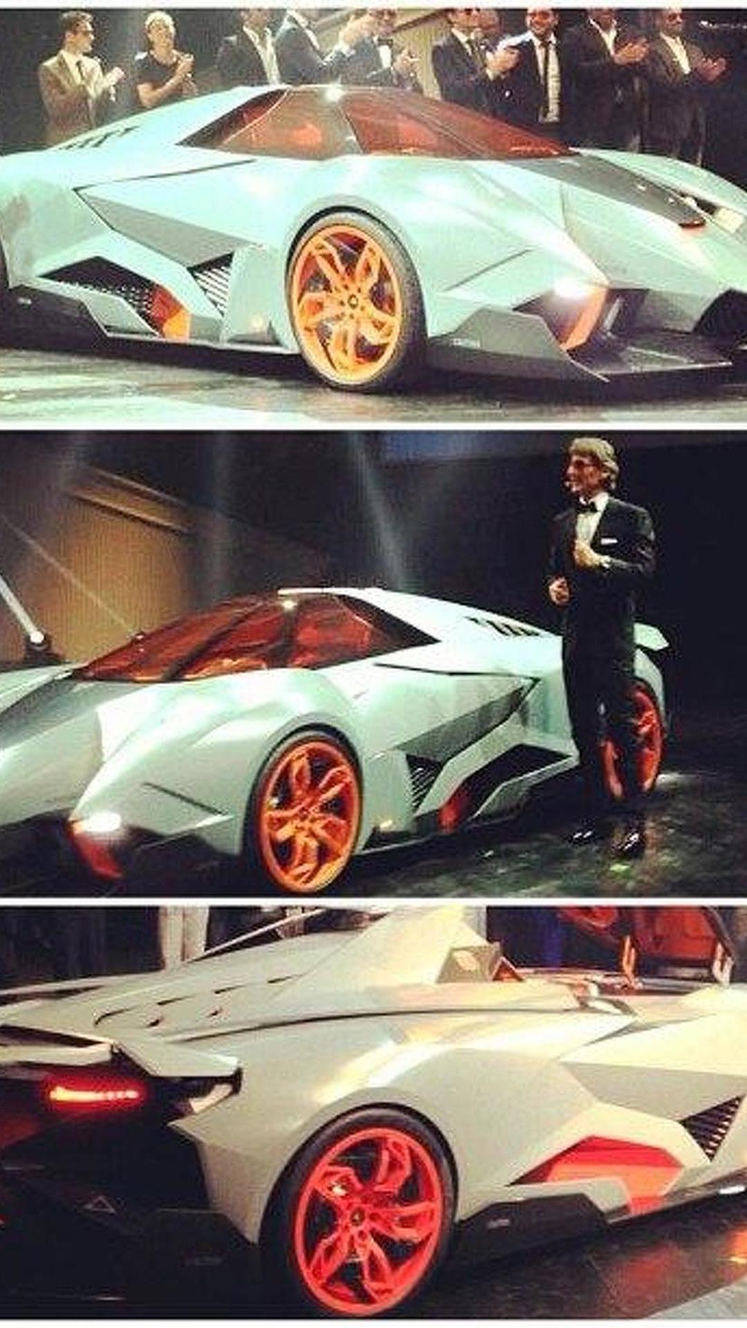 Lamborghini Egoista Concept One Seater Revealed More Photos Added