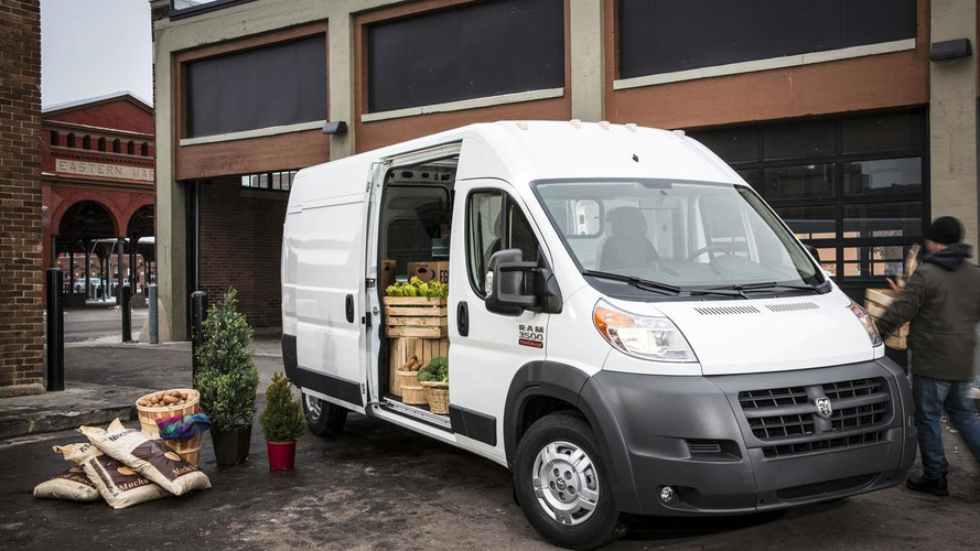 fiat ducato unveiled as 2014 ram promaster in chicago rh motor1 com