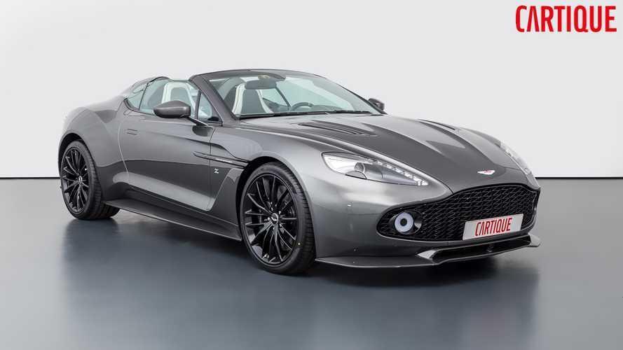 Elérhetővé vált a 28 Aston Martin Vanquish Zagato Spedster egyike