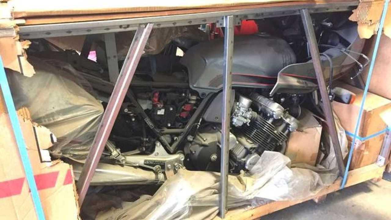 1981 Honda CBX-B In Original Crate