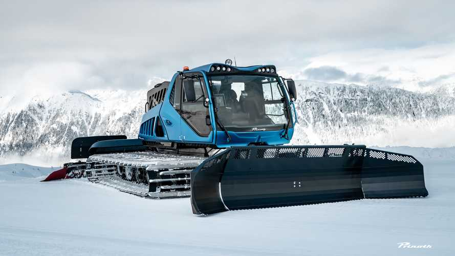 Prinoth Introduces Electric And Hydrogen Snow Groomers
