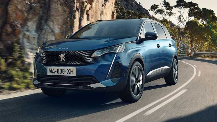 Facelifted Peugeot 3008 and 5008 SUVs go on sale in the UK