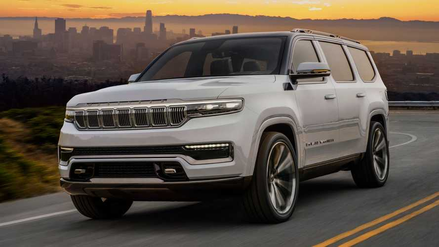 Jeep Grand Wagoneer Concept Revealed Looking Very Production-Ready