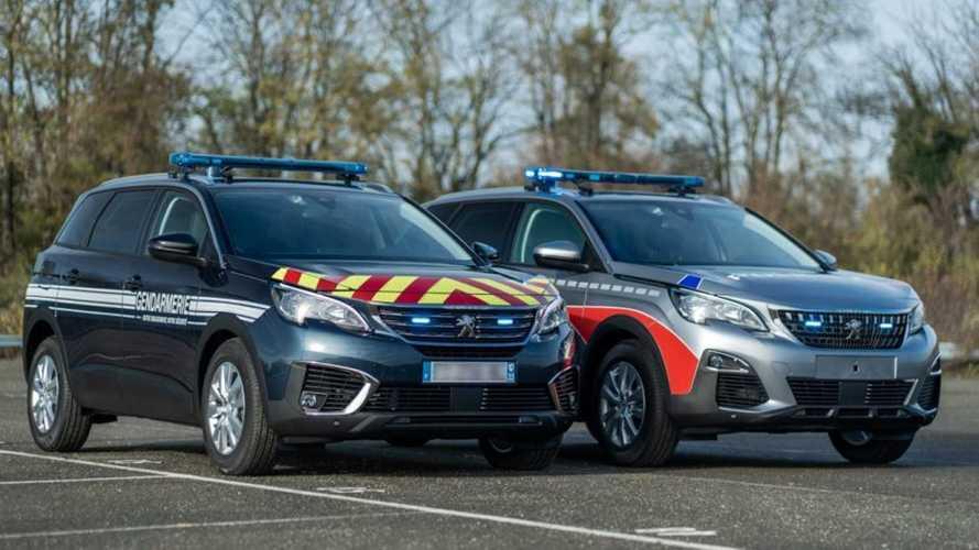Les Peugeot 5008 de la Police et de la Gendarmerie dévoilés