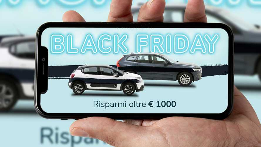 Black Friday, BrumBrum arriva fino a 1.000 euro di sconti