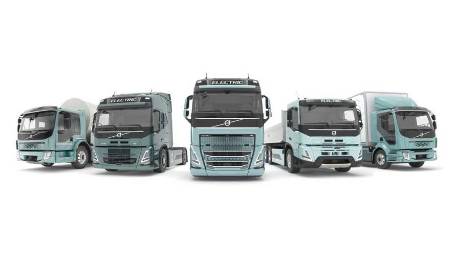 Volvo'nun elektrikli kamyonları da yakında yollarda olacak