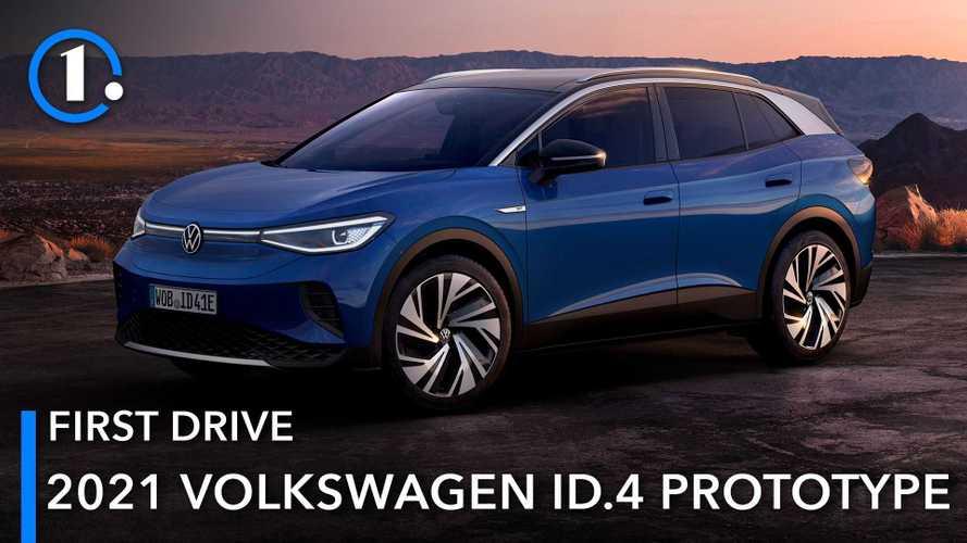 Volkswagen ID.4 Prototipe First Drive 2021: Penuh Daya Pikat