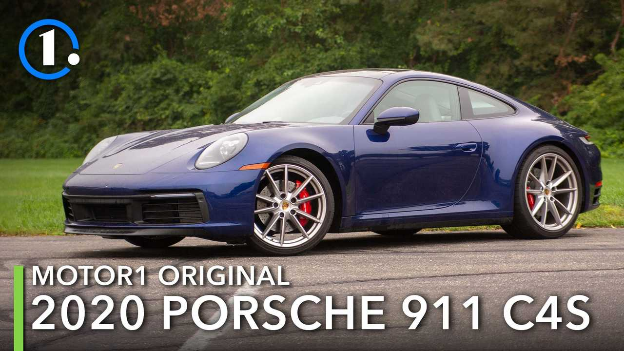 2020 Porsche 911 C4S