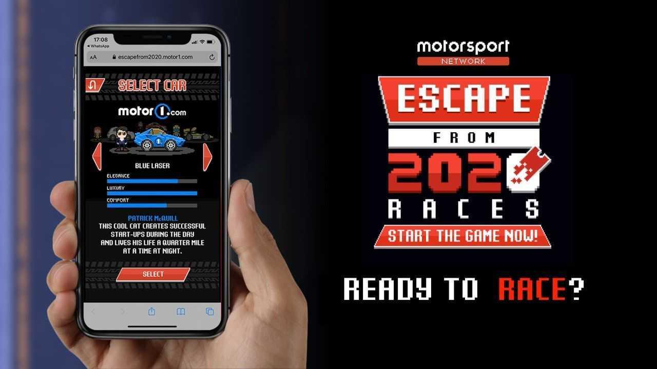 Portada juego Escape from 2020 Races
