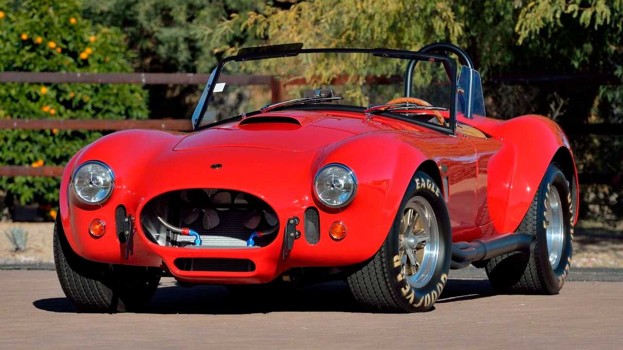 Paul Walker's 1965 Shelby 427 Cobra Up For Auction