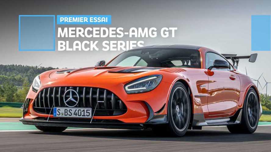 Mercedes-AMG GT Black Series - En piste avec la plus puissante de toutes !