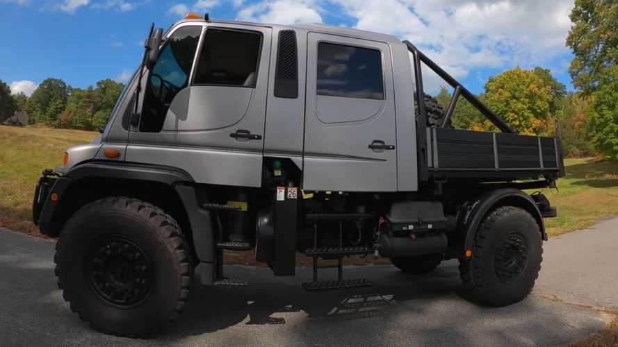 See What It's Like To Drive A Mercedes Unimog With Its Unusual Gearbox