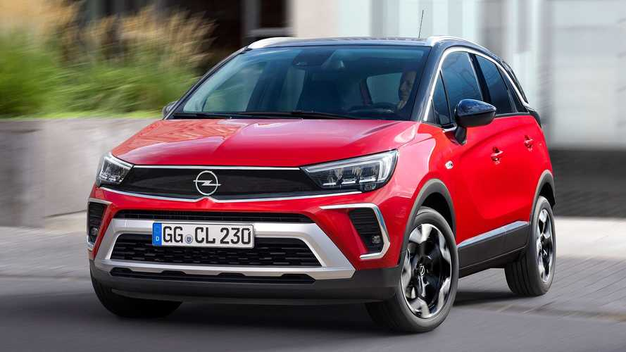 2021 Opel Crossland Debuts With Updated Look, New Tech